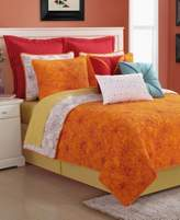 Fiesta Martika Reversible Twin Quilt Set