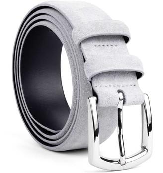 Dalgado Handmade Leather Belt Light Grey Norberto