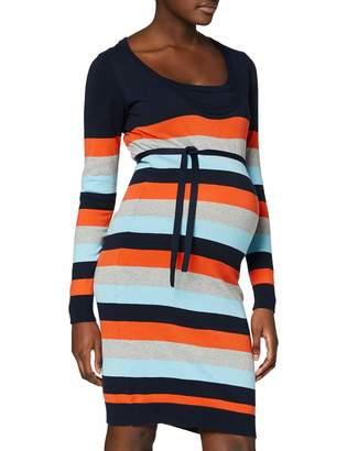 Mama Licious Mamalicious Women's Mlkenna Nell L/s Knit Multi Dress Nf
