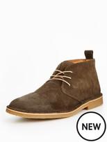 Selected Royce Chukka Wax Suede Boot