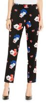 Vince Camuto Traveling Blooms Skinny Ankle Pants