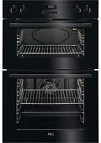 AEG DEE431010B Built-In Multifunction Double Electric Oven, Black