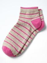 Banana Republic Stripe Bootie Sock