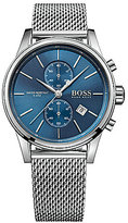 BOSS Hugo Boss BOSS Jet Chronograph & Date Stainless Steel Mesh Bracelet Watch