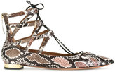 Aquazzura 'Belgravia' ballerinas - women - Leather/Nappa Leather - 36