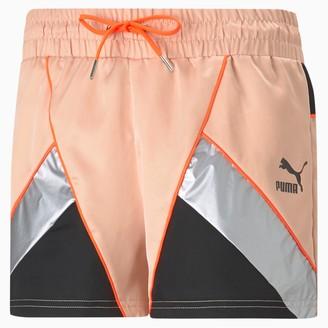 Puma Tailored for Sport Women's Satin Shorts
