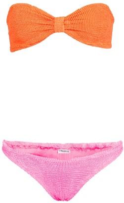 Hunza G Jean bandeau bikini