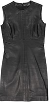 Barneys New York Black Leather Dress for Women