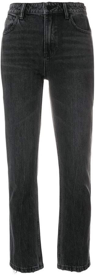 Alexander Wang regular cropped jeans
