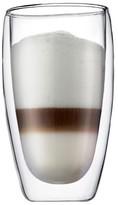 Bodum Pavina Double Wall Glass, Set of 2 (15 oz)