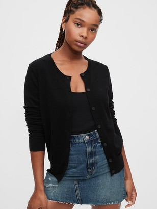 Gap Button-Front Cardigan