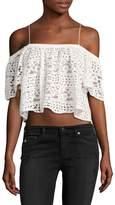 Plenty by Tracy Reese Women's Lace Crop Top