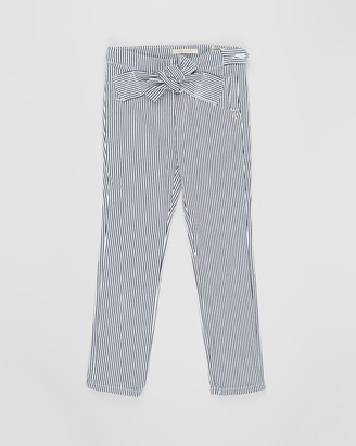 Scotch R'Belle High-Waist Striped Pants with Bow Detail - Teens