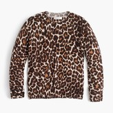 J.Crew Girls' leopard-print popover sweater