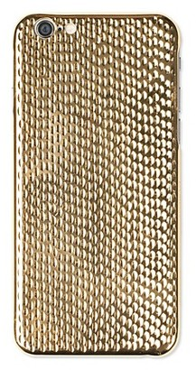LA MELA Cobra 18K Yellow Gold Plated iPhone 6/6S Case