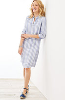 J. Jill Rayon-Twill Shirtdress