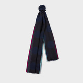 Paul Smith Women's Black Polka Dot Silk-Blend Scarf