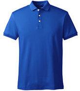 Classic Men's Slim Fit Short Sleeve Supima Polo Shirt-Midnight Purple