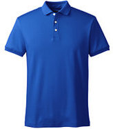 Classic Men's Slim Fit Short Sleeve Supima Polo Shirt-Sea Agate