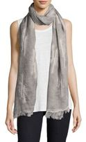 Eileen Fisher Maltinti Embroidered Scarf