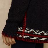 Ralph Lauren Blue Label Intarsia-Knit Wool Sweater