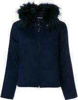 P.A.R.O.S.H. fur collar jacket