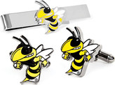 Cufflinks Inc. Men's Georgia Tech Yellow Jackets Cufflink/Tie Bar Set