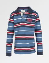 Fat Face Stripe Rugby Shirt
