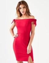 Lipsy Tie Shoulder Bodycon Dress