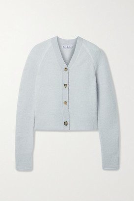 Acne Studios - Stretch-knit Cardigan - Sky blue