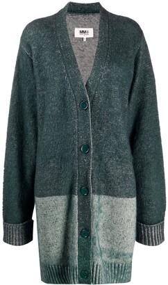 MM6 MAISON MARGIELA Longline Knitted Cardigan