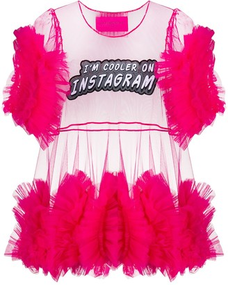 Viktor & Rolf I'm Cooler On Instagram tulle top
