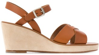 A.P.C. Judith platofrm sandals