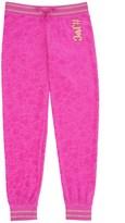 Juicy Couture Girls Fashion Track Castle Hill Jacquard Velour Pant