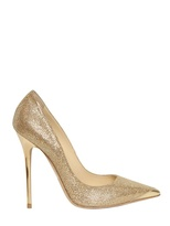 Jimmy Choo 120mm Anouk Glitter & Calf Pointed Pumps