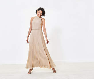 Oasis Pleated Bridesmaid Dress