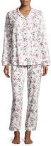 BedHead Bird-Print Toile Pajama Set, Ivory, Plus Size