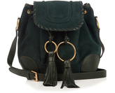 See by Chloe Polly suede cross-body bucket bag