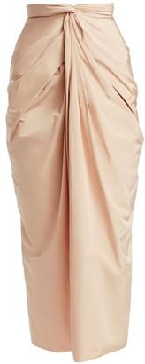 A.W.A.K.E. Mode Twist Knot Column Skirt