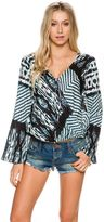O'Neill Melissa Printed Long Sleeve Top
