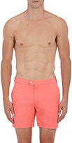 Solid & Striped MEN'S THE KENNEDY SWIM TRUNKS-ORANGE SIZE S