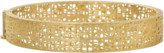 Yossi Harari Champagne Diamond Lace Cuff