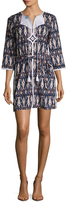 Figue Sophie Cotton Printed Shift Tunic