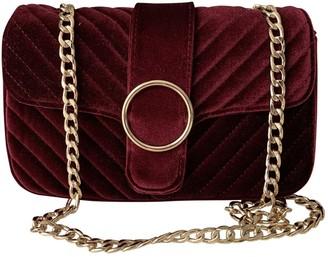 Non Signã© / Unsigned Non SignA / Unsigned Burgundy Velvet Handbags