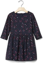 Gap Printed long sleeve dress