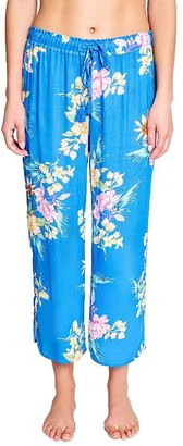 PJ Salvage Beach Babe Cropped Woven Pants
