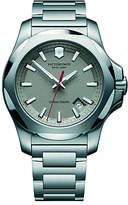 Victorinox 241739 Men's I.N.O.X Date Bracelet Strap Watch, Silver