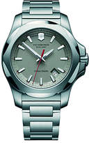 Victorinox 241739 I.n.o.x Date Bracelet Strap Watch, Silver