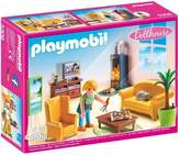 Playmobil Dollhouse Living Room with Fireplace 5308