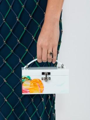 Edie Parker Peachy Trunk Bag